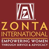 Square Red Zonta International Logo